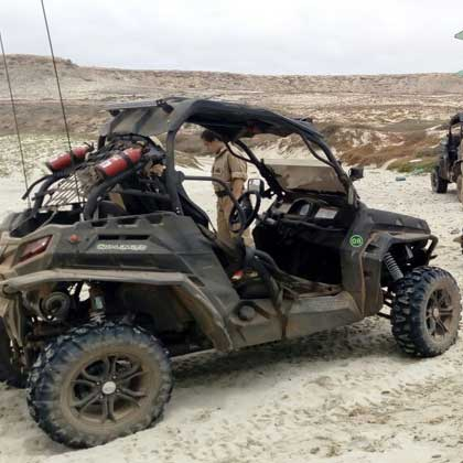 Buggy tours in Sal in Cabo Verde or Cape Verde