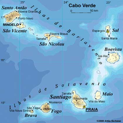 Languages in in Cabo Verde or Cape Verde