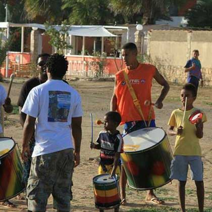 Music and arts in Cabo Verde or Cape Verde