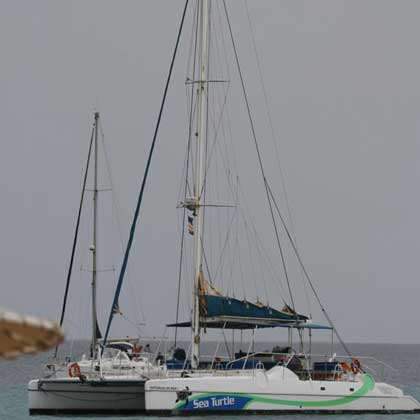 Catermaran trips on Sal, Cabo Verde or Cape Verde