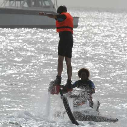 Fly Board in Cabo Verde or Cape Verde