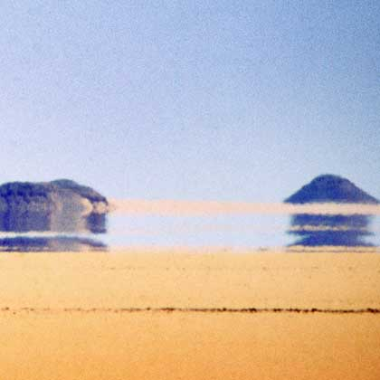 Mirage in Cabo Verde or Cape Verde