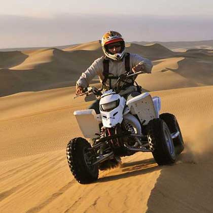 Quad Bikes on Cabo Verde or Cape Verde