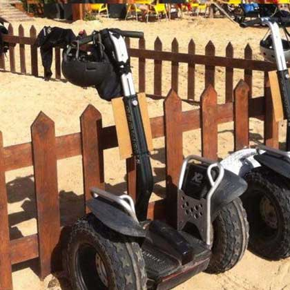 Segways tours in Cabo Verde or Cape Verde