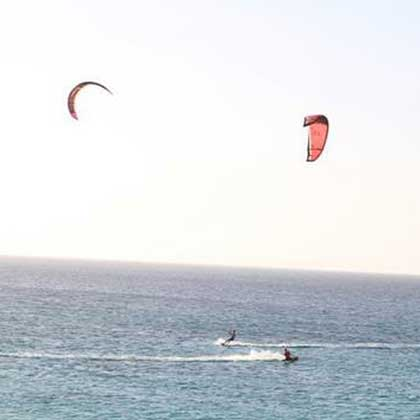 Windsurfing in Cabo Verde or Cape Verde